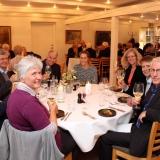 Middag på restaurant Skovmøllen med 25-40- og 50-års jubilarer